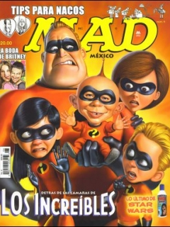 MAD Magazine #6 • Mexico • 4th Edition - Mina