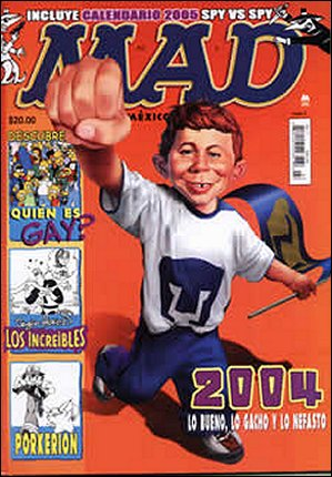 MAD Magazine #7 • Mexico • 4th Edition - Mina