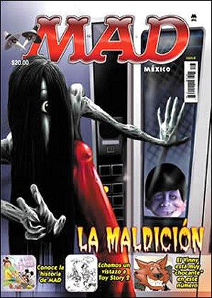 MAD Magazine #8 • Mexico • 4th Edition - Mina