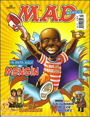 MAD Magazine #14 • Mexico • 4th Edition - Mina
