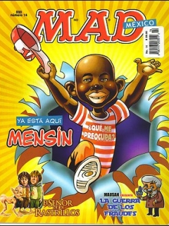 Go to MAD Magazine #14 • Mexico • 4th Edition - Mina