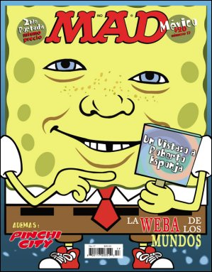 MAD Magazine #17 • Mexico • 4th Edition - Mina