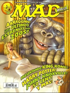 MAD Magazine #18 • Mexico • 4th Edition - Mina