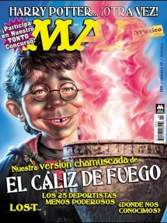 Go to MAD Magazine #19 • Mexico • 4th Edition - Mina
