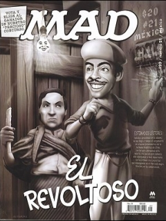 Go to MAD Magazine #21 • Mexico • 4th Edition - Mina