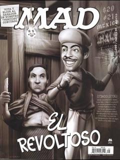 MAD Magazine #21 • Mexico • 4th Edition - Mina