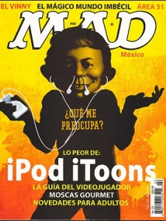 Go to MAD Magazine #22 • Mexico • 4th Edition - Mina