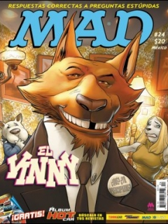 Go to MAD Magazine #24 • Mexico • 4th Edition - Mina