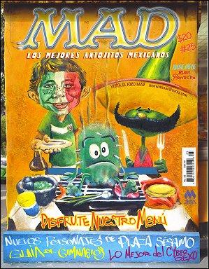 MAD Magazine #25 • Mexico • 4th Edition - Mina