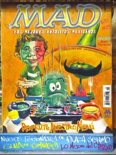 Go to MAD Magazine #25 • Mexico • 4th Edition - Mina
