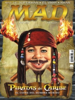 Go to MAD Magazine #29 • Mexico • 4th Edition - Mina