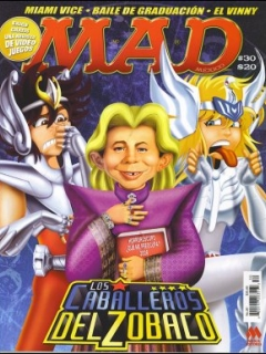 Go to MAD Magazine #30 • Mexico • 4th Edition - Mina