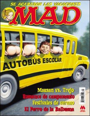 MAD Magazine #31 • Mexico • 4th Edition - Mina
