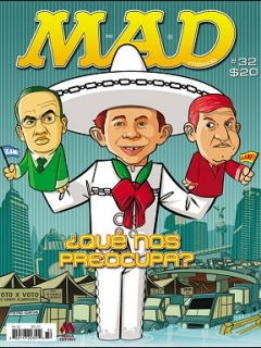 Go to MAD Magazine #32 • Mexico • 4th Edition - Mina