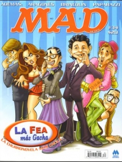 Go to MAD Magazine #34 • Mexico • 4th Edition - Mina