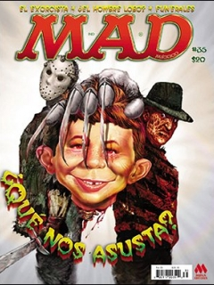 Go to MAD Magazine #35 • Mexico • 4th Edition - Mina