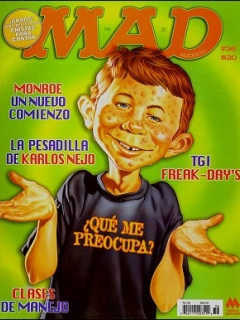 Go to MAD Magazine #36 • Mexico • 4th Edition - Mina