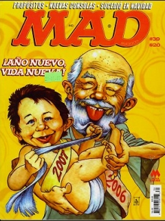 Go to MAD Magazine #39 • Mexico • 4th Edition - Mina
