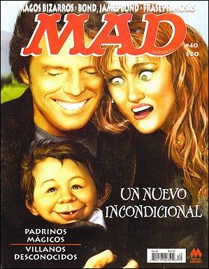 MAD Magazine #40 • Mexico • 4th Edition - Mina