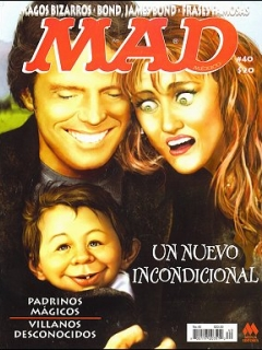Go to MAD Magazine #40 • Mexico • 4th Edition - Mina