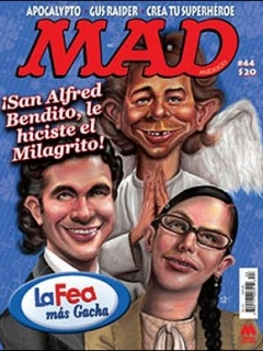 Go to MAD Magazine #44 • Mexico • 4th Edition - Mina