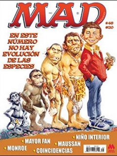 Go to MAD Magazine #45 • Mexico • 4th Edition - Mina