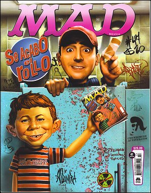 MAD Magazine #47 • Mexico • 4th Edition - Mina
