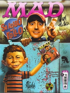 Go to MAD Magazine #47 • Mexico • 4th Edition - Mina