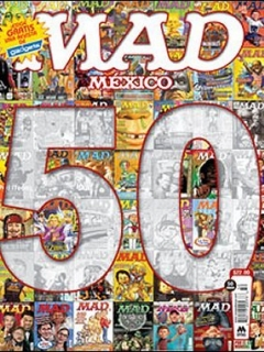 Go to MAD Magazine #50 • Mexico • 4th Edition - Mina