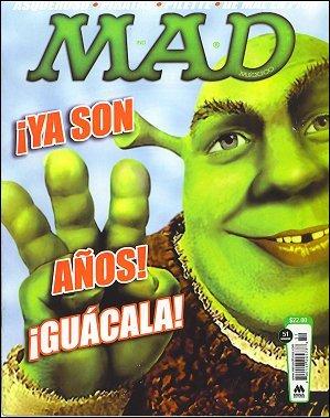 MAD Magazine #51 • Mexico • 4th Edition - Mina