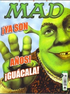 Go to MAD Magazine #51 • Mexico • 4th Edition - Mina