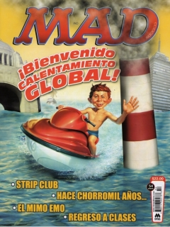 Go to MAD Magazine #54 • Mexico • 4th Edition - Mina