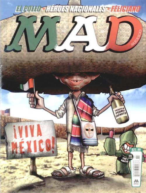 MAD Magazine #55 • Mexico • 4th Edition - Mina