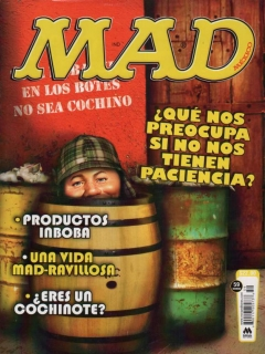 Go to MAD Magazine #59 • Mexico • 4th Edition - Mina