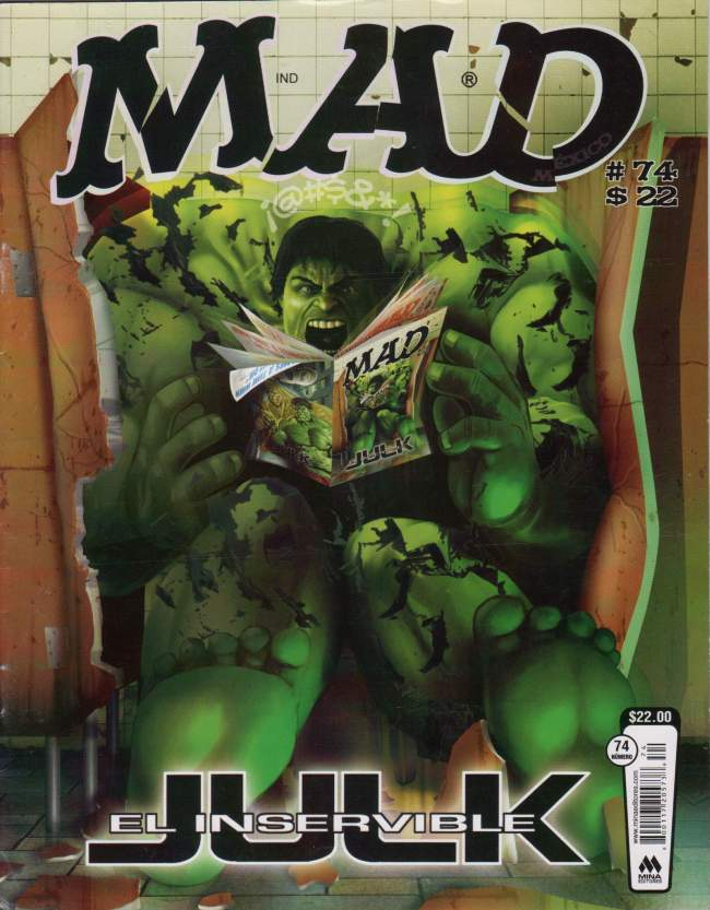 MAD Magazine #74 • Mexico • 4th Edition - Mina