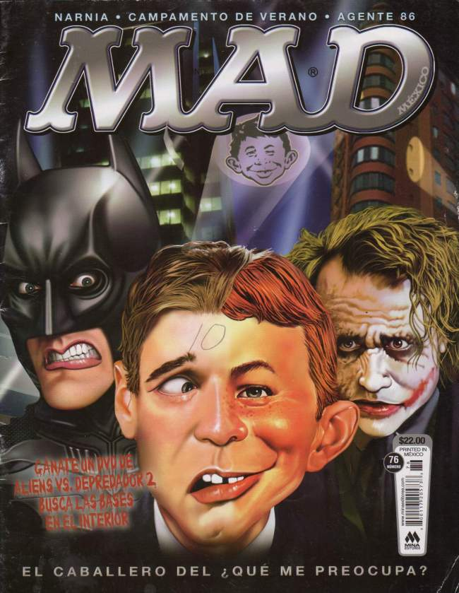 MAD Magazine #76 • Mexico • 4th Edition - Mina