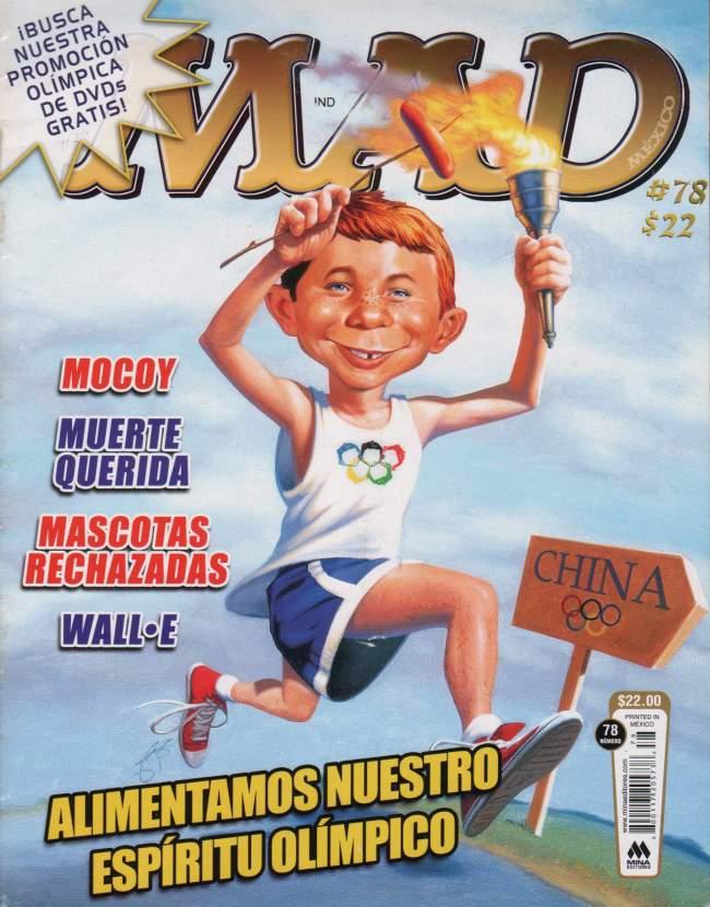 MAD Magazine #78 • Mexico • 4th Edition - Mina