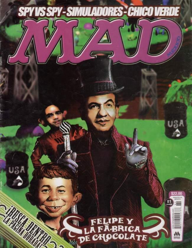 MAD Magazine #81 • Mexico • 4th Edition - Mina
