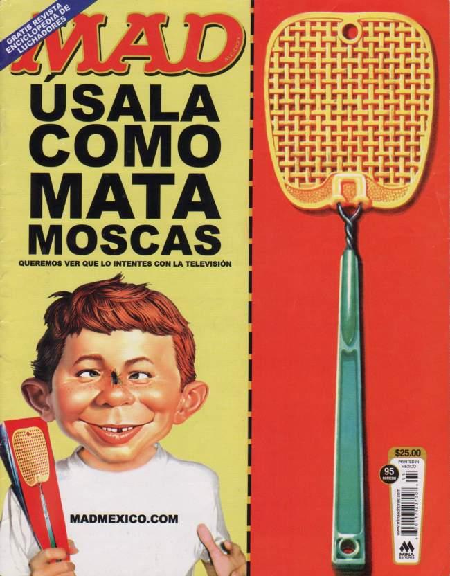 MAD Magazine #95 • Mexico • 4th Edition - Mina