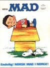 MAD Magazine #1 1970 • Norway • 1st Edition - Williams