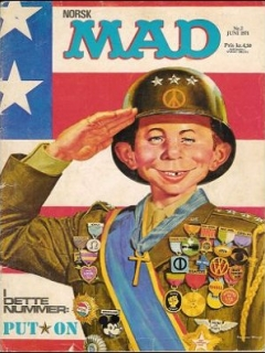 Go to MAD Magazine #2 1970 • Norway • 1st Edition - Williams