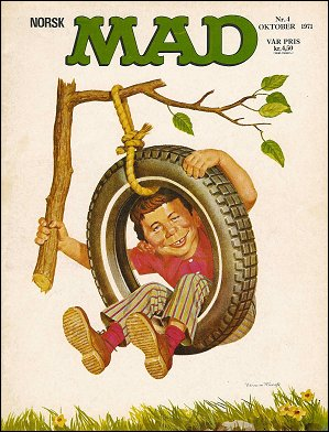MAD Magazine #4 • Norway • 1st Edition - Williams