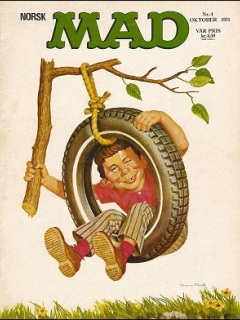 Go to MAD Magazine #4 1970 • Norway • 1st Edition - Williams