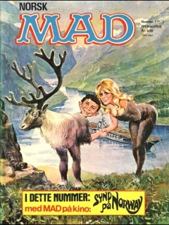 Go to MAD Magazine #1 1971 • Norway • 1st Edition - Williams