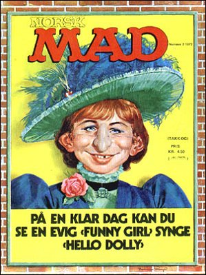 MAD Magazine #7 • Norway • 1st Edition - Williams