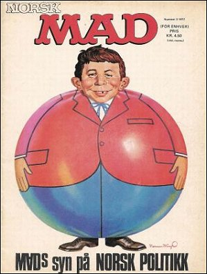 MAD Magazine • Norway • 1st Edition - Williams