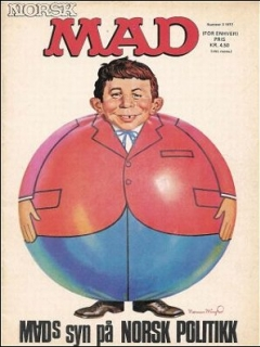 Go to MAD Magazine #3 1971 • Norway • 1st Edition - Williams