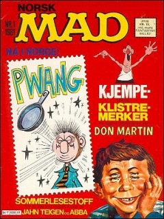 Go to MAD Magazine #1 1980 • Norway • 2nd Edition - Semic