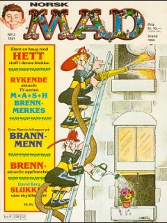 Go to MAD Magazine #2 1980 • Norway • 2nd Edition - Semic