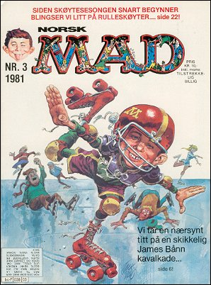MAD Magazine #3 • Norway • 2nd Edition - Semic